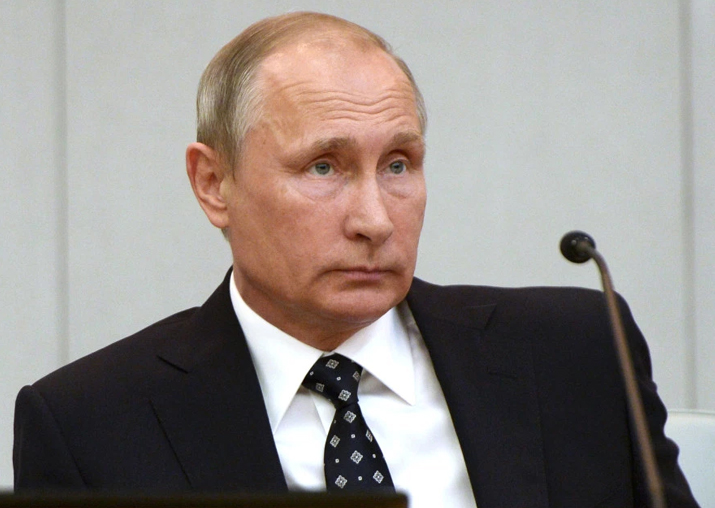 File pic of Russian President Vladimir Putin
