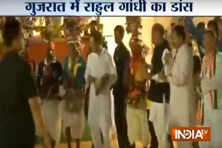 Video: When Rahul Gandhi tapped his feet on tribal songs in