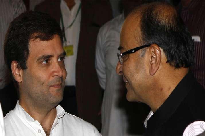 Arun Jaitley slams Rahul Gandhi's jibe on GST