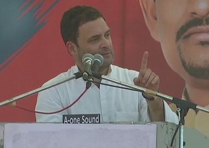 Rahul Gandhi in Gandhinagar
