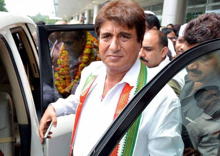 File pic of Raj Babbar, President of Congress' UP Unit