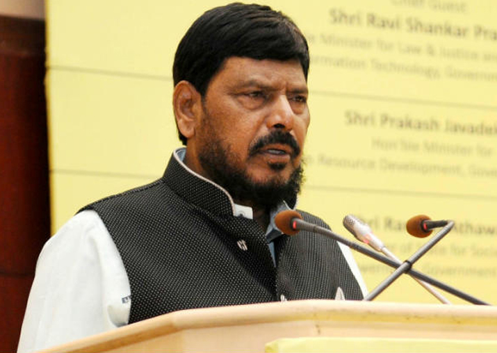 File pic of Ramdas Athawale