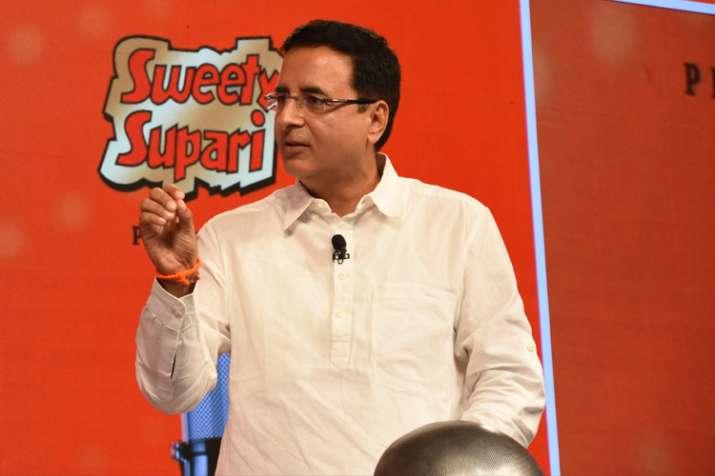 Randeep Surjewala at India TV Chunav Manch