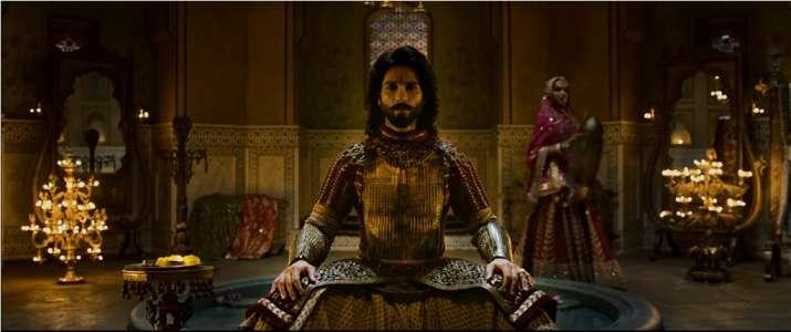 India Tv - Shahid Kapoor as Maharawal Ratan Singh in Padmavati