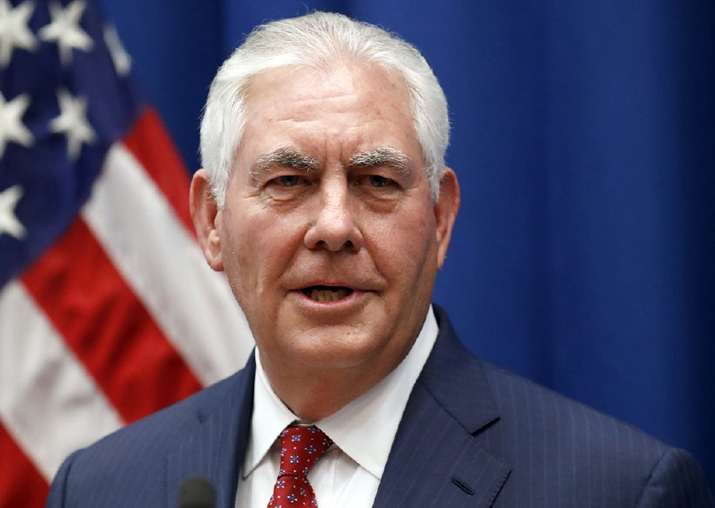 Rex Tillerson speaks to Myanmar military leader over