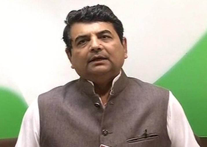 Congress leader RPN Singh