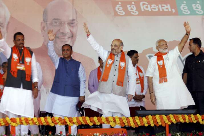 Amit Shah sets 137-plus target for Gujarat Assembly