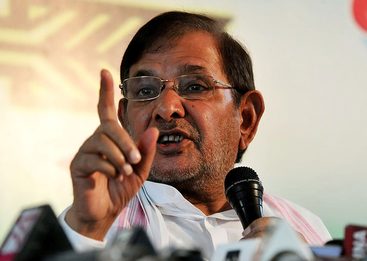 Rebel JD(U) leader Sharad Yadav