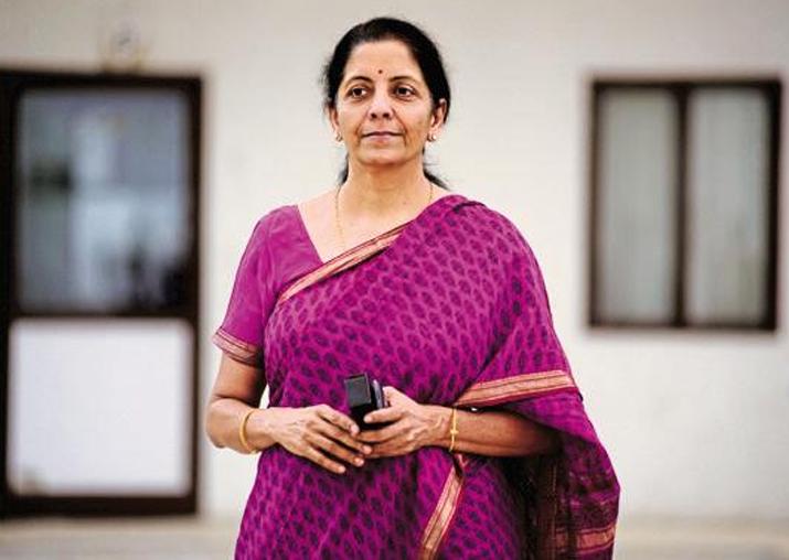 File pic of Defence Minister Nirmala Sitharaman