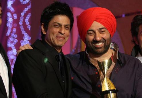 India Tv - Sunny Deol and SRK