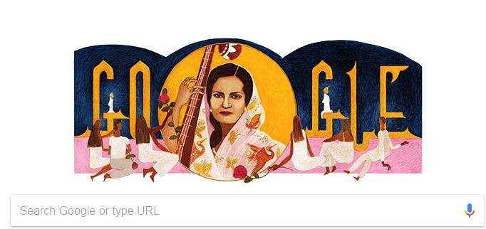 India Tv - Google Doodle for Begum Akhtar