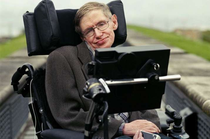 British physicist and cosmologist Stephen Hawking
