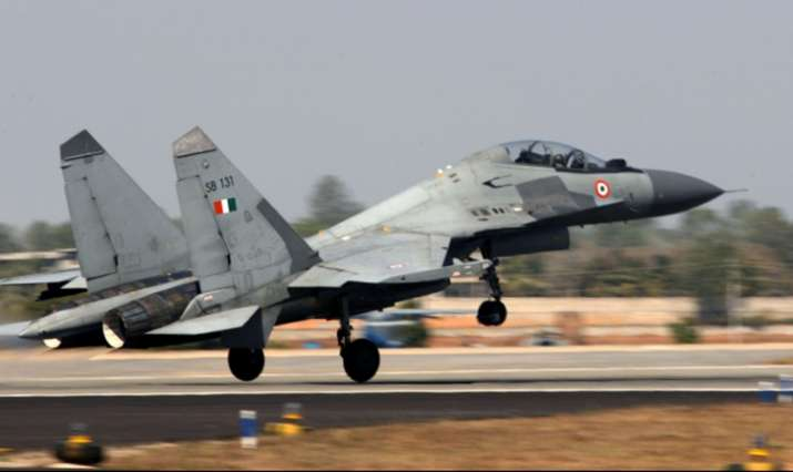 India Tv - File Photo of Indian Air Force's Sukhoi 30 MKI