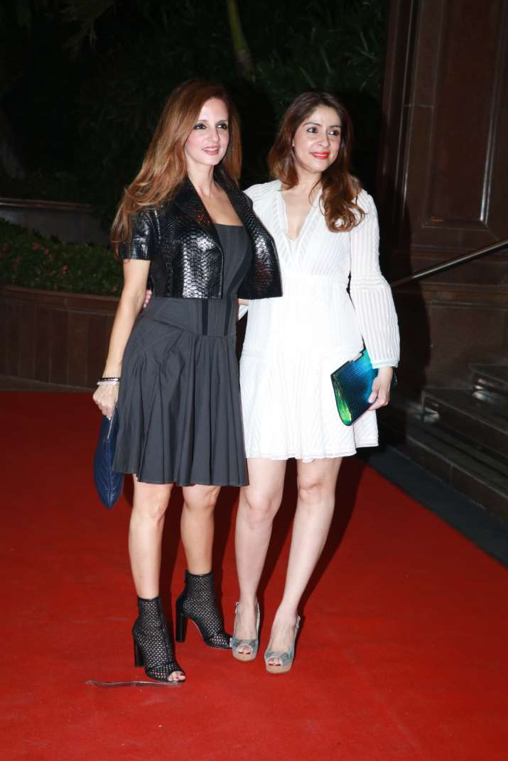 India Tv - Sussanne Khan at Gauri Khan's Halloween Party