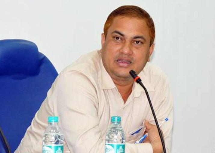 File pic of BJP MP Kamakhya Prasad Tass