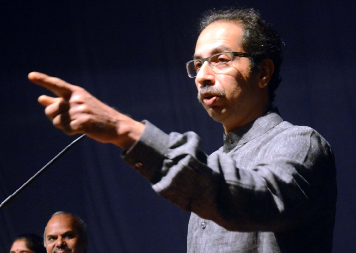 File pic - Uddhav Thackeray