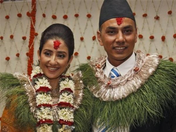 India Tv - Manisha Koirala and Samrat Dahal