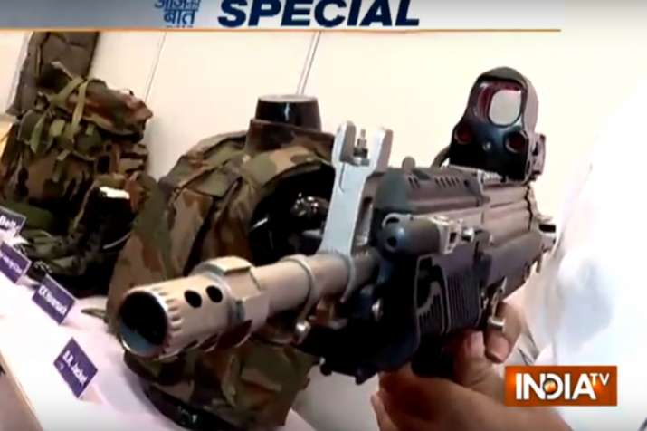 Security forces in Kashmir get high-tech weapons