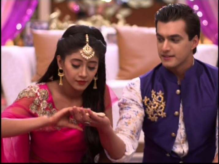 India Tv - A still from one of the episodes of Yeh Rishta Kya Kehlata Hai