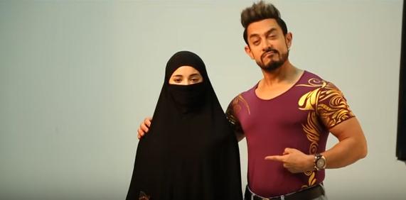 Secret Superstar, Aamir Khan, Zaira Wasim