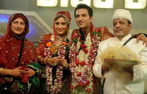 India Tv - Sana Khan got married in Bigg Boss