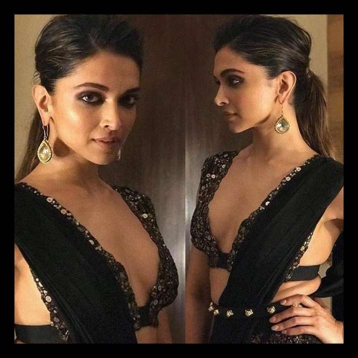 Deepika Padukone trolled for wearing sexy sari at GQ