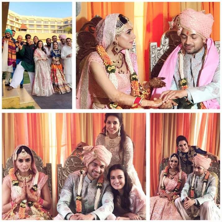 India Tv - Gautam Gupta-Smriti Khanna wedding