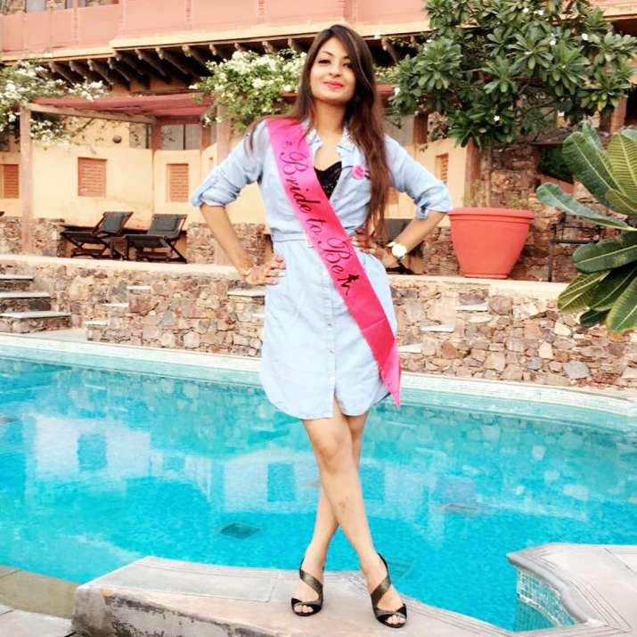 India Tv - Akanksha Jindal at her Bachelorette party