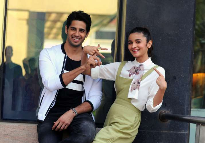 India Tv - Alia-Sidharth