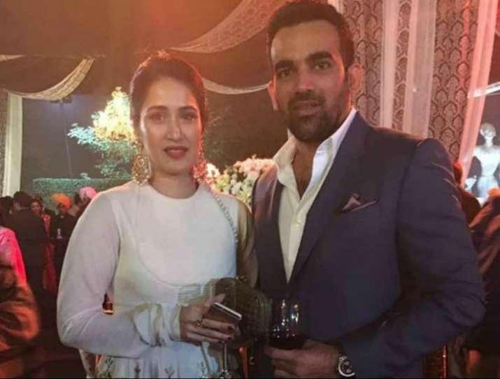 India Tv - Sagarika Ghatge and Zaheer Khan