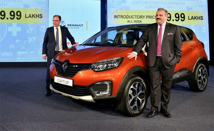 The Renault Captur will be available in petrol and diesel