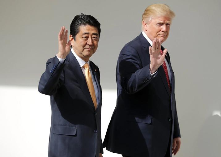 North Korea, trade, golf on President Donald Trump's