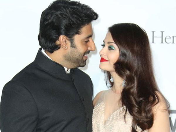 Aishwarya Rai with Abhishek Bachchan