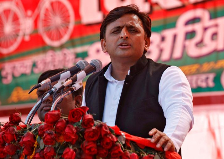 File pic of Akhilesh Yadav