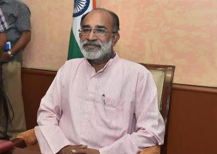 File pic of Union Minister KJ Alphons