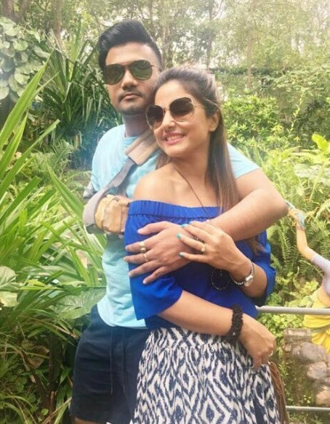 India Tv - Hina Khan rocky