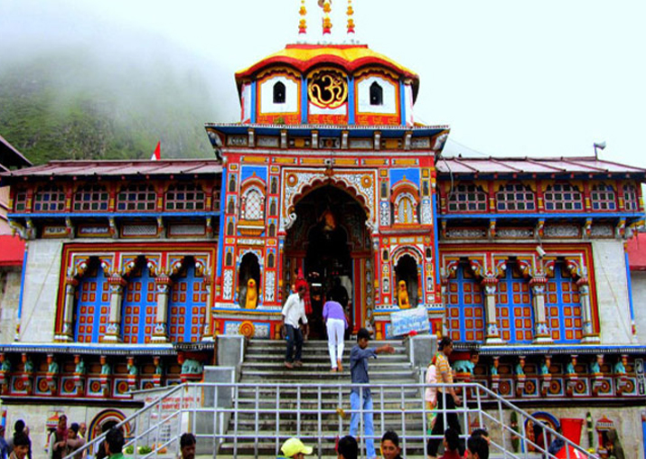File pic of Badrinath