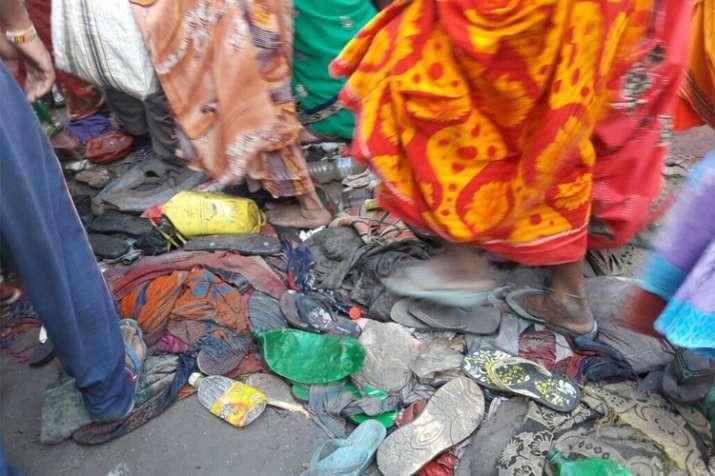 India Tv - Three dead, several injured in stampede in Bihar's Begusarai