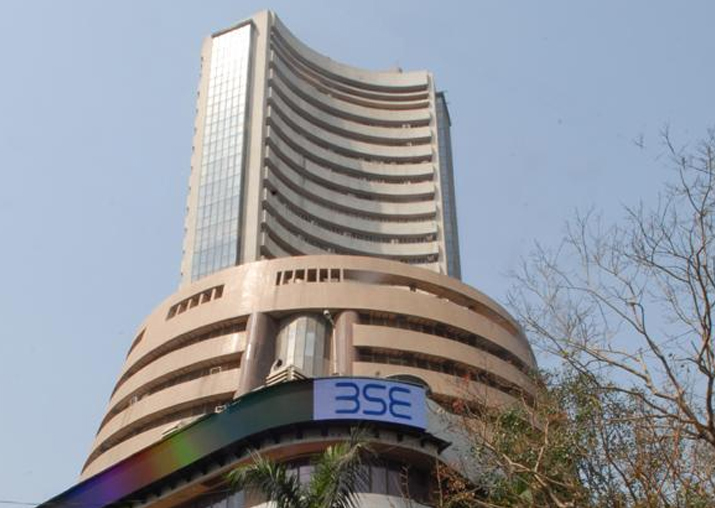 Sensex rises marginally to end at 33,250 ahead of GST
