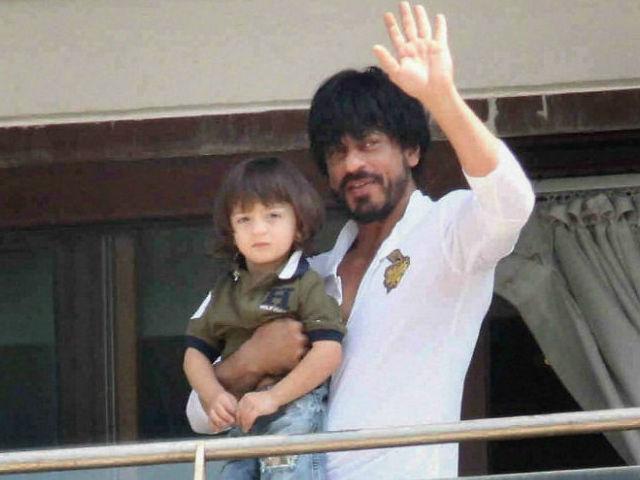 India Tv - AbRam, SRK