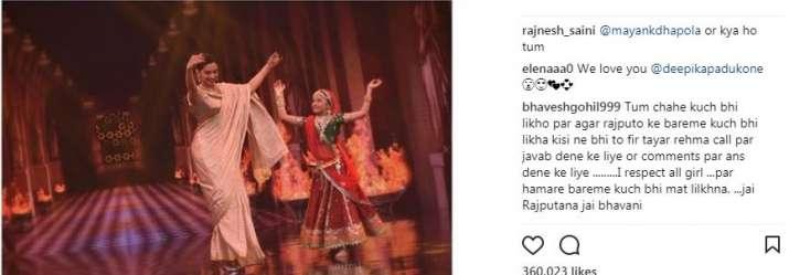 India Tv - Deepika's Instagram post