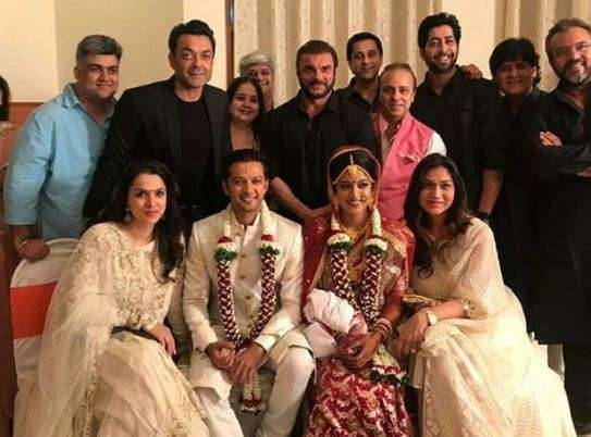 Ishita Dutta and Vatsal Sheth after their wedding