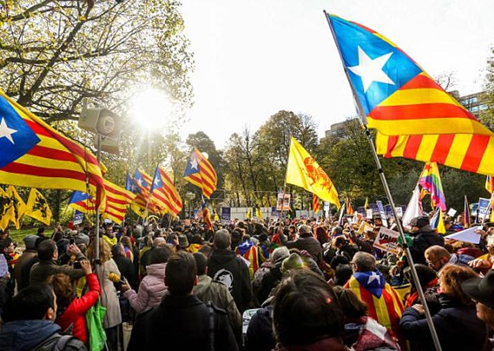 Russia denies media meddling in Catalonia's independence bid