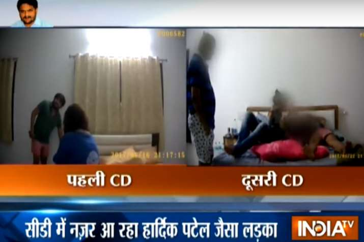 After 'sex CD', new video of Hardik Patel with woman