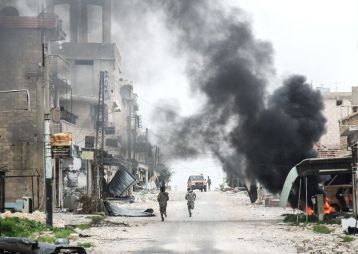 Representational pic - Syrian government behind chemical