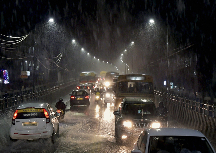 Torrential rains pound Chennai, neighbouring districts