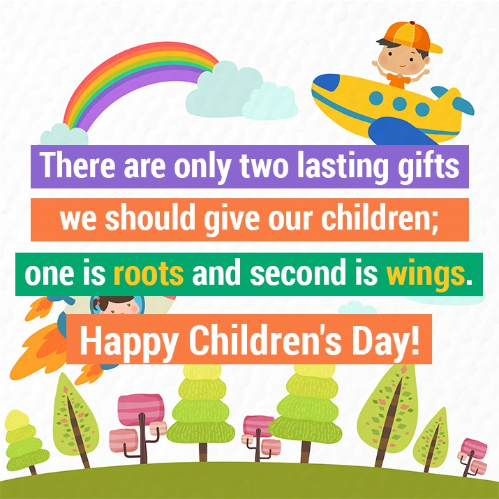 Happy Children's Day 2017: Quotes, Images, WhatsApp & Facebook