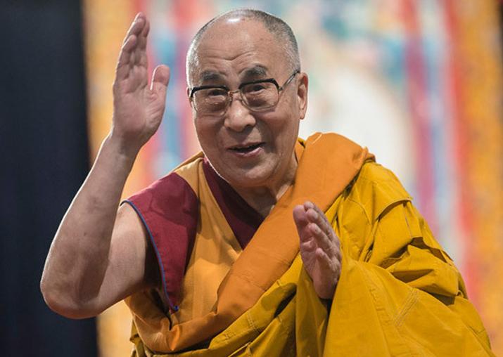 File pic of Dalai Lama