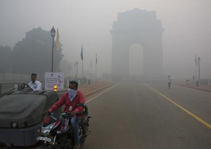 Delhi air quality: 'No time safe to go outdoors', says