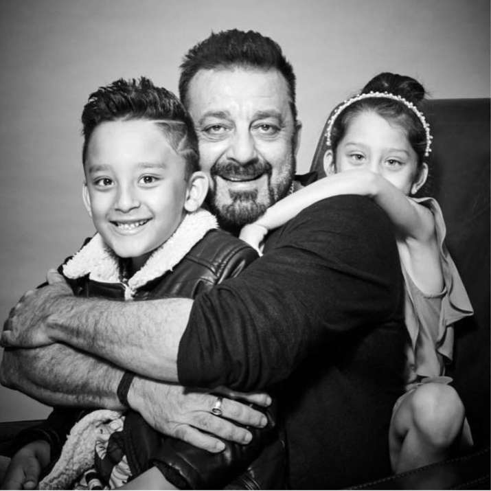 Check out the first ever photoshoot of Sanjay Dutt with ...